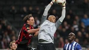 FC Porto empata e passa aos oitavos da Liga Europa