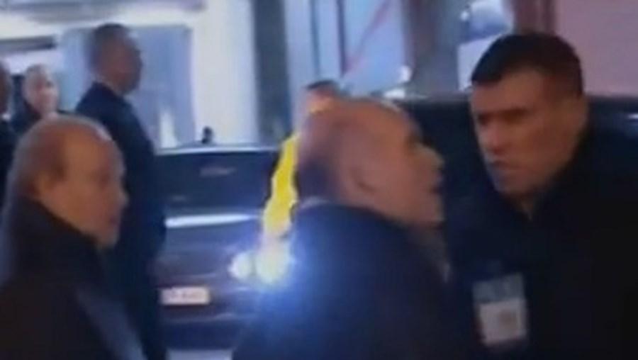 Pinto da Costa (à esq.) desobedeceu à PSP