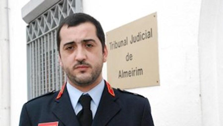 Telmo Ferreira, adjunto de comando dos Bombeiros Voluntários de Almeirim