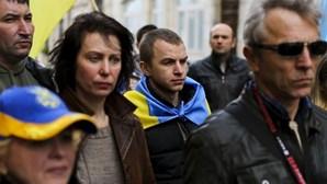 Ucranianos em Portugal pedem posição politica ao Governo sobre manobras da Rússia