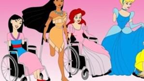 Veja as princesas Disney... com deficiências físicas