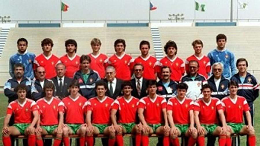 sub 20, campeões do mundo, nigéria, 1989, carlos queiroz, fernando couto, paulo sousa