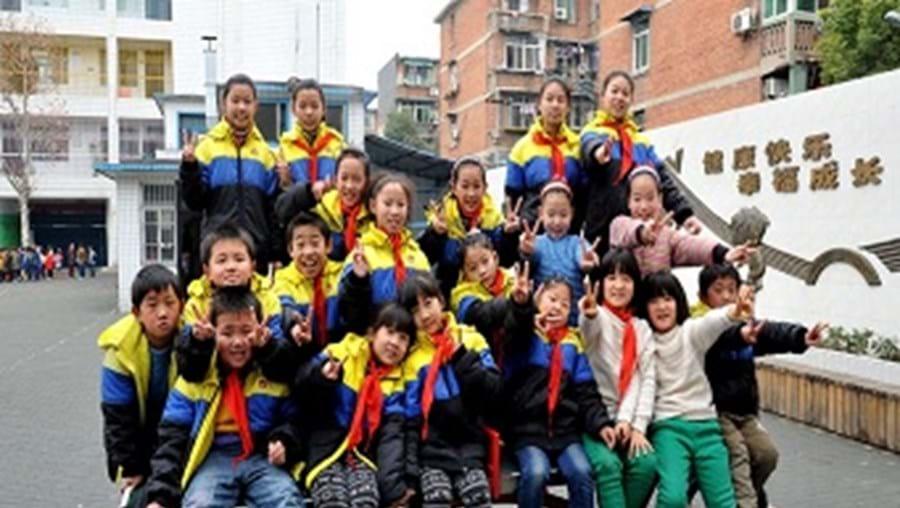 Os 10 pares de gémeos da escola de Wuham