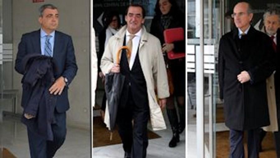 Paulo Guichard, Salvador Fezas Vital e João Rendeiro, ex-administradores do BPP
