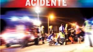 Acidente causa três feridos graves em Moura