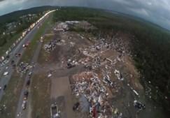 Fortes tornados nos Estados Unidos causam doze mortos
