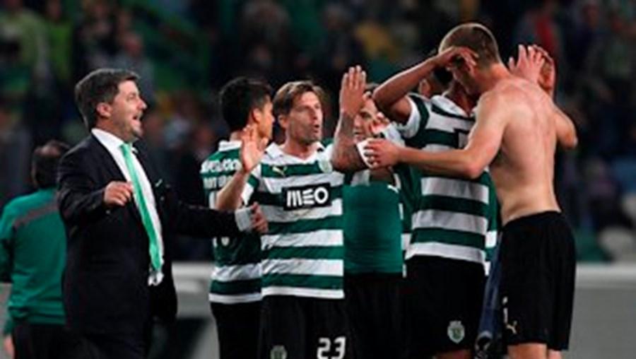 Bruno de Carvalho está muito satisfeito com o desempenho dos jogadores leoninos