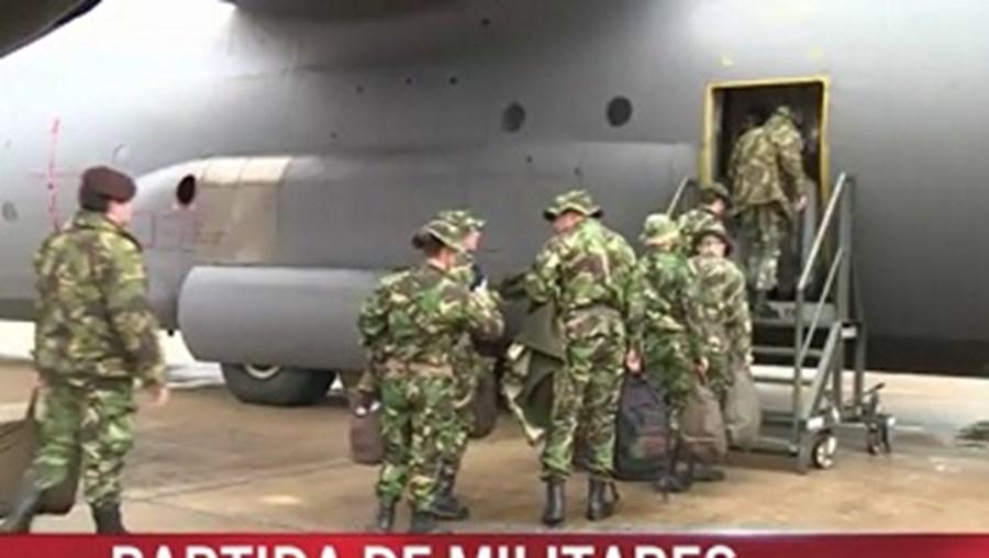 militares, portugueses, vão, fazer, parte, missão, kosovo