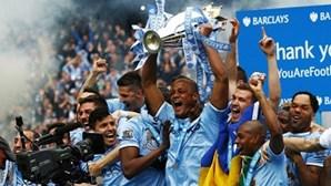 Manchester City campeão em Inglaterra