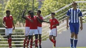 Benfica sagra-se campeão nacional de iniciados ao vencer FC Porto