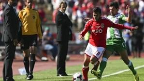 Benfica vence Rio Ave ao intervalo (1-0)