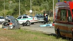 Colisão violenta mata condutora