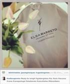 A manequim Diana Pereira não revela o vestido, mas adianta que é da autoria de Elsa Barreto