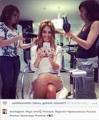 Ana Rita Clara escolheu as hairstylists dos cabeleireiros Lúcia Piloto para a pentear