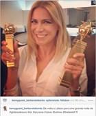 Bárbara Taborda não poderia faltar à XIX gala dos Globos de Ouro