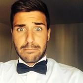 Diogo Lagoa, o protagonista da série da TVI I Love It, já está quase pronto para a festa