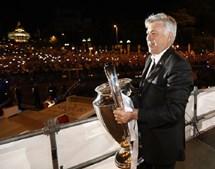 2º lugar: Carlo Ancelotti, treinador do Real Madrid, recebe nove milhões de euros por época