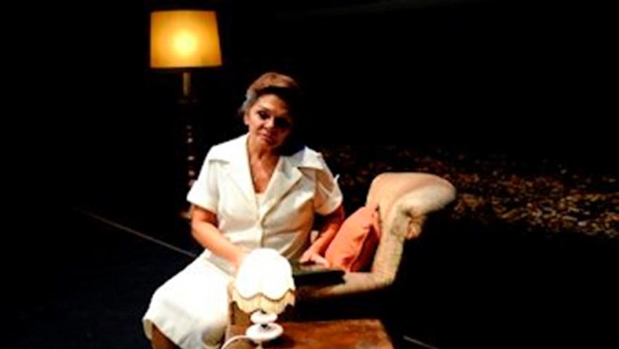 Rita Ribeiro na peça 'Gisberta', o maior sucesso do Teatro Rápido