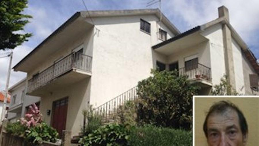 A casa de Manuel Baltazar, em Trevões, onde foi caçado