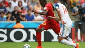 Bélgica nos 'oitavos' ao bater Rússia com golo tardio de Origi