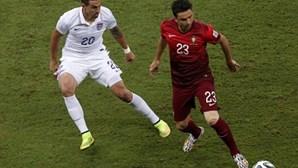 Portugal vence EUA ao intervalo