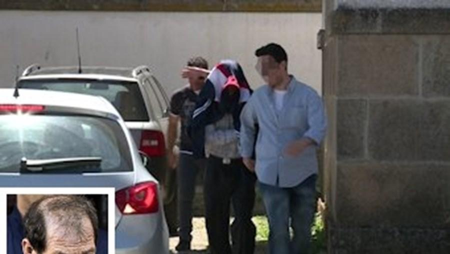 Manuel Baltazar esteve duas horas e meia no Tribunal de São João da Pesqueira, onde respondeu pelo duplo homicídio e por violência doméstica