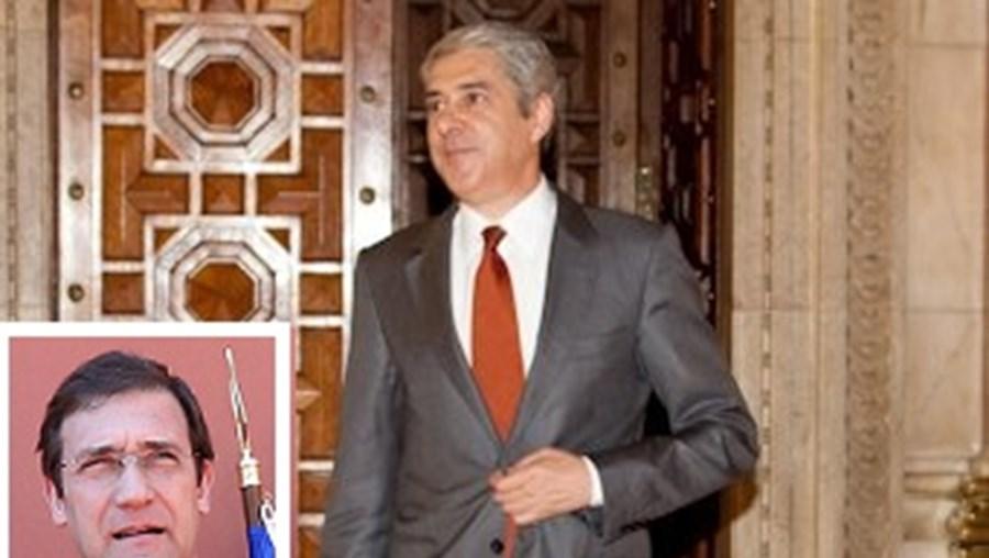 Pedro Passos Coelho sucedeu a José Sócrates como primeiro--ministro em junho de 2011