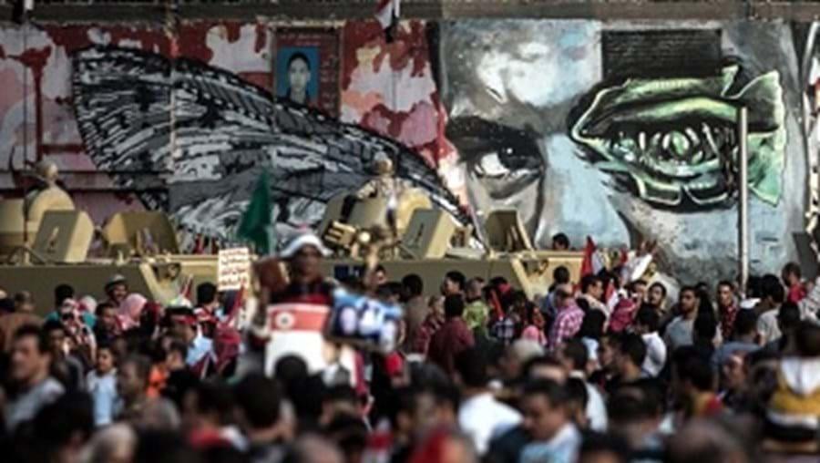 Festejos da eleição do novo presidente do Egito decorreram no mesmo no local onde aconteceu a violação