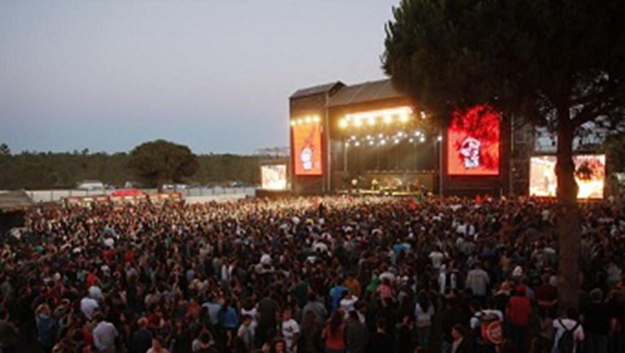 Recinto do Festival Super Bock Super Rock