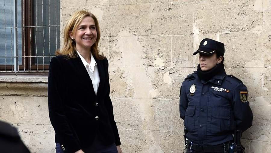 Infanta Cristina, réus, crimes de branqueamento, delito fiscal