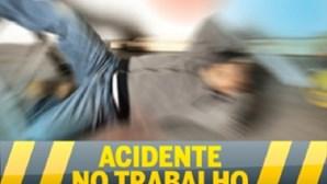 Três feridos em acidente de trabalho