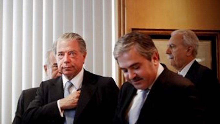 Amílcar Morais Pires (à dir.) foi o nome indicado por Ricardo Salgado para presidir ao BES