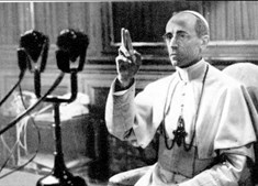 Imagem do papa Pio XII