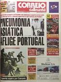2003: País em alerta com pneumonia asiática