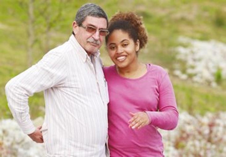 Armanda conta com o apoio do pai, José Leite