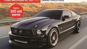 Mustang de Jara: como era e como ficou