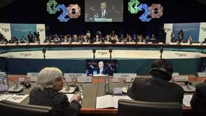 G20 coloca crescimento económico em 1,8% até 2018