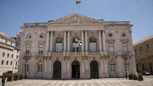 Câmara de Lisboa com a cores da Bélgica