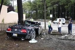 GNR tomou conta da ocorrência e está a investigar as circunstâncias do acidente