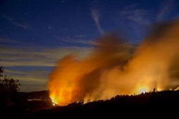 Incêndio na Califórnia, nos EUA