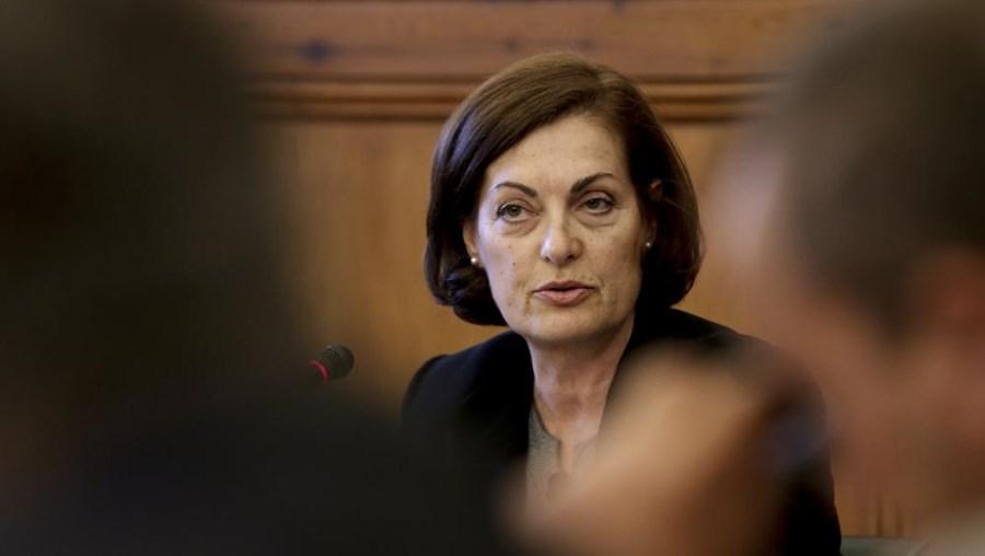 Maria Helena Rodrigues, dirigente sindical do STE-Sindicato dos Quadros Técnicos do Estado