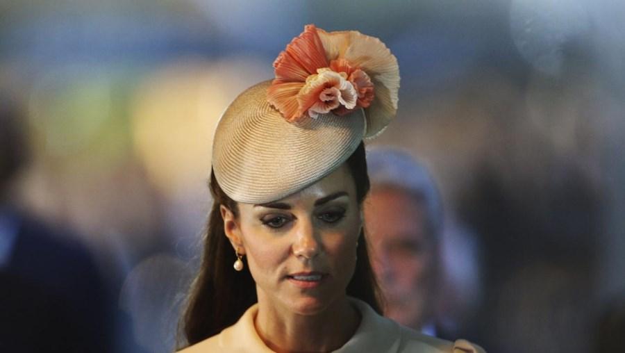 A ilustração de Kate Middleton foi feita por Alexsandro Palombo