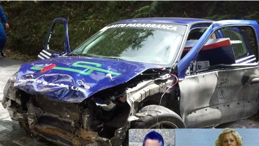 Mortes de Adriano e da mãe, Maria Cândida, chocaram a população de Cedões, na Trofa. Bruno Filipe Lopes, de 13 anos, também perdeu a vida no acidente
