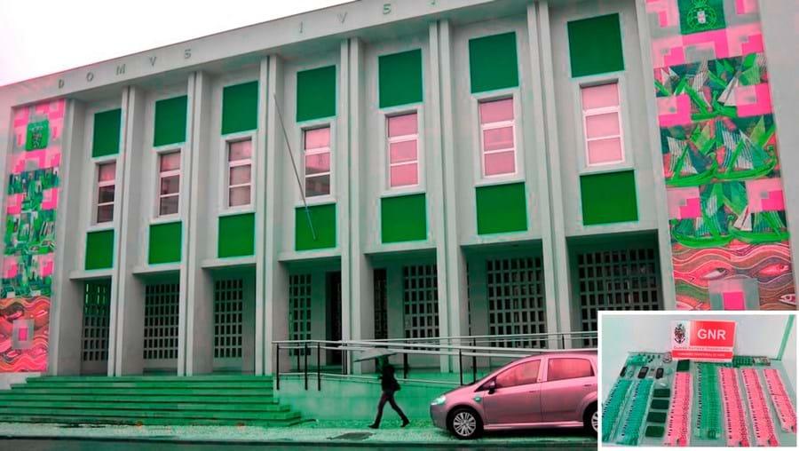 GNRapreendeu dinheiro e material aos detidos que, presentes ao tribunal de Olhão, ficaram em preventiva