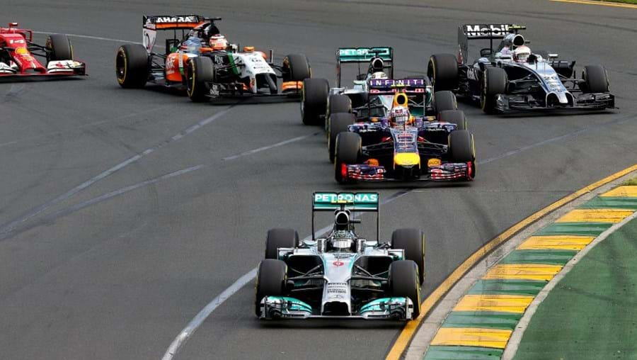 O Grande Prémio da Áustrália no Circuito de Melbourne