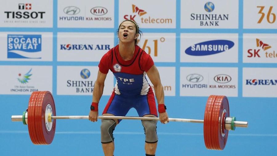 Halterofilista cazaque levantou 132kg
