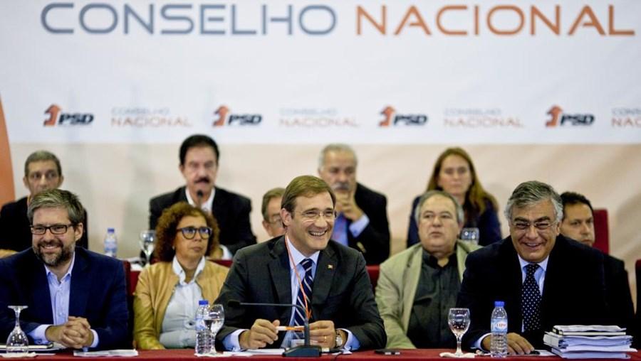 Passos Coelho no Concelho Nacional do Partido Social Democrata, em Ansião
