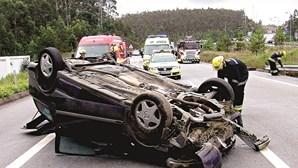 Acidente na A25 fatal para turista