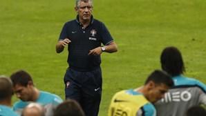 Fernando Santos estreia-se ao comando da seleção