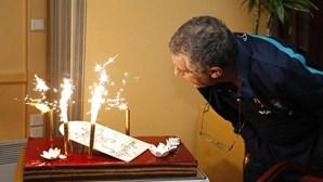 Fernando Santos comemora aniversário em França
